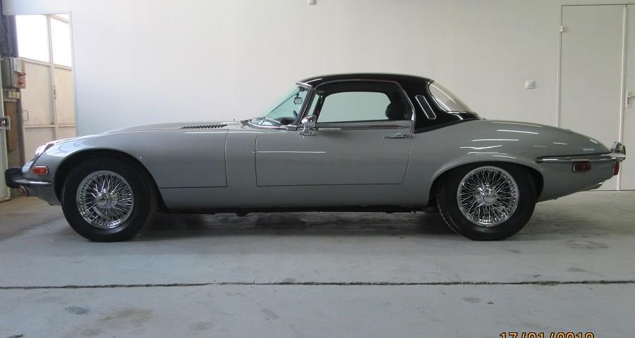 jaguar type e roadster v12 première main | phoenix international